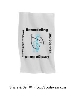 Full Color Photo Golf Towels Design Zoom